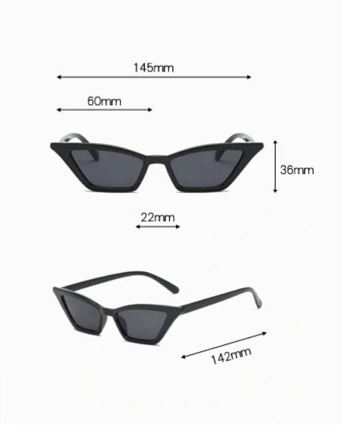 Stylové retro sluneční brýle